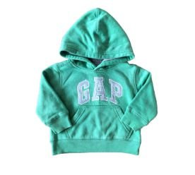 Moletom Verde e Cinza Baby Gap