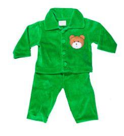 Conjunto Plush Verde Ursinho Mini Vida