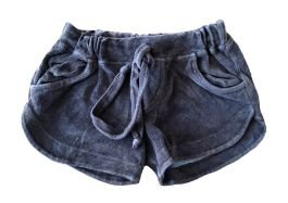 Shorts de Plush Marrom Mini Vida