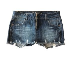 Shorts Saia Jeans Blue Steel