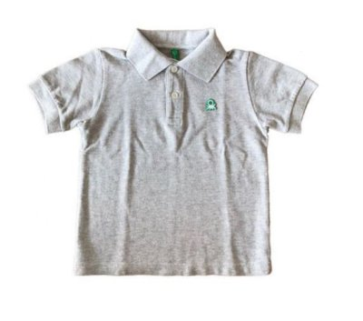 Polo Cinza Benetton