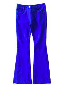 Calça Flare Azul Royal Morina