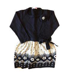 Vestido Tricot Manga Longa