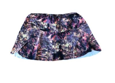 Shorts Saia Estampado Body Plus