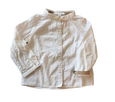 Camisa Branca Burberry