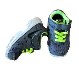 Tênis Cinza e Amarelo Flúor Nike