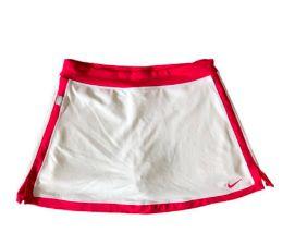 Saia Branca e Pink Nike