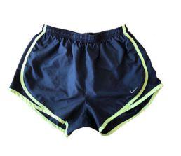 Shorts Preto e Amarelo Nike