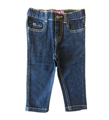 Calça Carter's Infantil Jeans Escuro