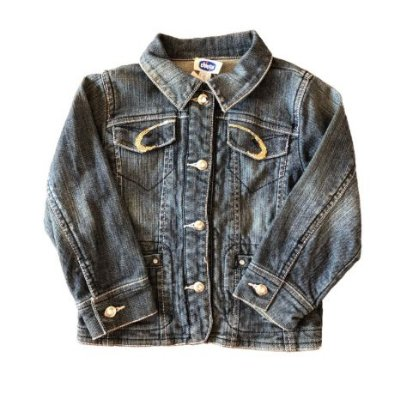 Jaqueta Jeans com Aplique Chicco