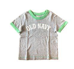 Blusa Cinza e Verde Old Navy