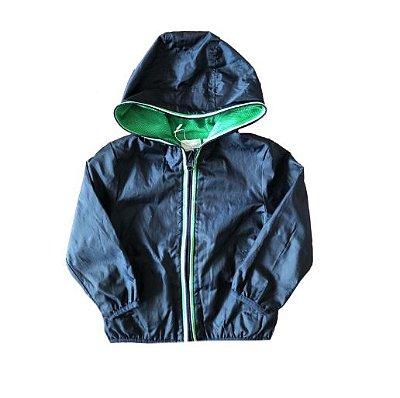 Jaqueta Azul Marinho, Verde e Branco Chicco