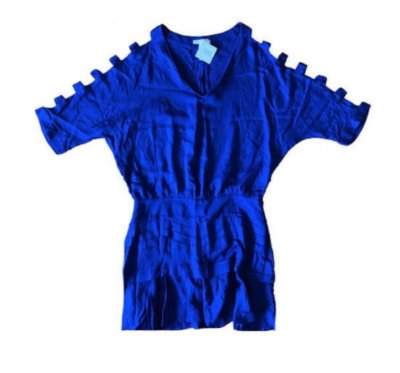 Vestido Azul Royal Chocoleite