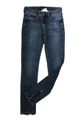 Calça Jeans Com Zíper na Perna Costume