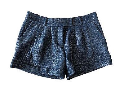Shorts Preto com Dourado Cris Barros