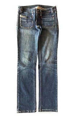 Calça Jeans Escura com Bolsinho Diesel
