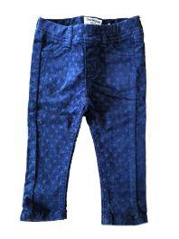 Calça de Veludo Azul Marinho Poá oshKosh