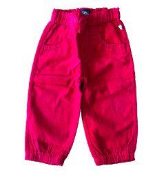 Calça de Veludo Vermelha OshKosh