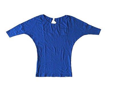 Blusão Farm Feminina Azul Marinho