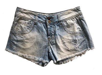 Shorts Farm Feminino Jeans Claro