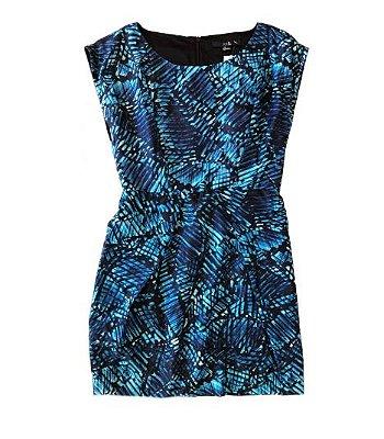 Vestido Tons de Azul Forever 21