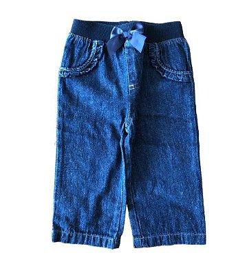 Calça Jeans com Laço Garanimals