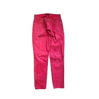 Calça Vermelha Animal Printe