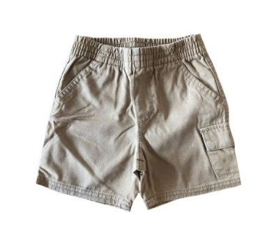Shorts Caramelo com Bolso Lateral Greend