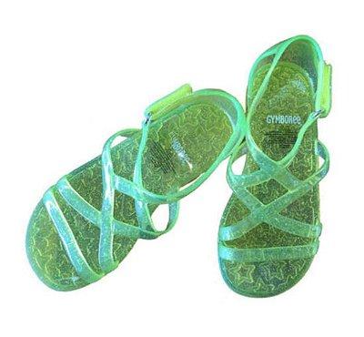 Sandália Amarela Flúor Gymboree
