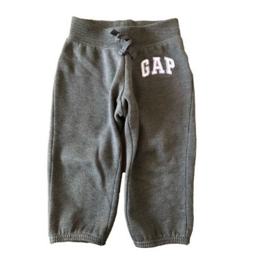 Calça de Moletom Curta Cinza Gap Kids