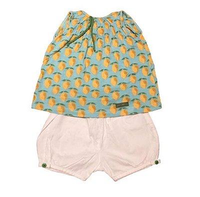 Conjunto Shorts e Blusa Limões Green