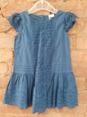 Vestido Azul Lese Tip Top
