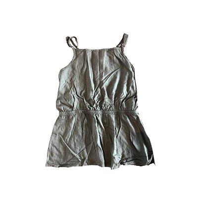 Blusa de Alcinha Verde Militar Puc