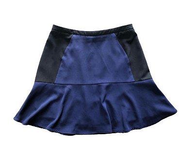 Saia Azul Marinho e Preta H&M