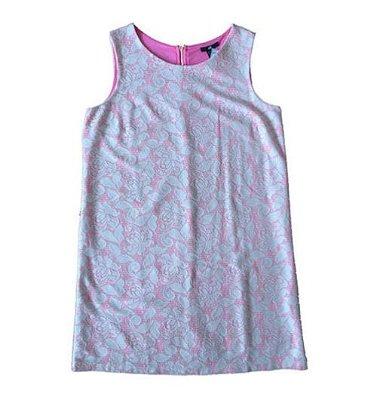 Vestido de Renda Rosa Flúor H&M