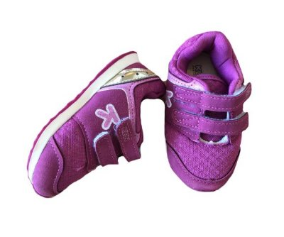 Tênis Roxo Velcro Klin