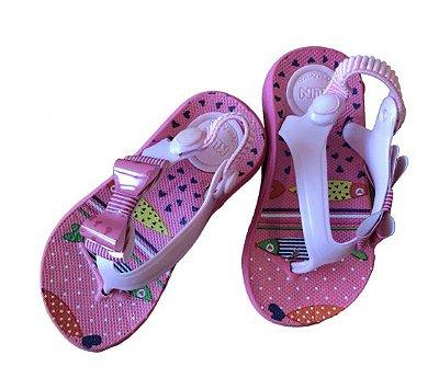Sandália de Dedo com Elástico Klin
