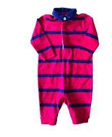 Macacão Vermelho e Azul Ralph Lauren