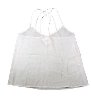 Blusa Branca de Alcinha Hollister
