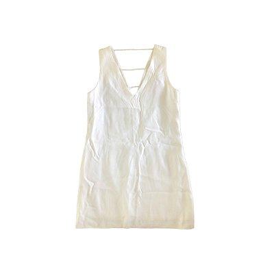 Vestido Animale Feminino Branco