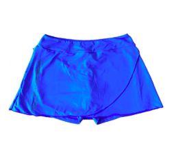Saia Shorts Azul The Fit Company