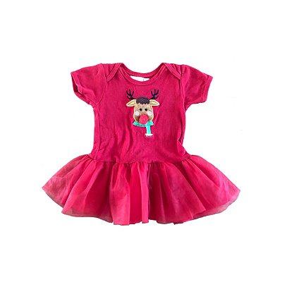 Vestido Vermelho Rena Via Flora