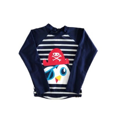 Blusa Manga Longa Pinguim Pirata Puket