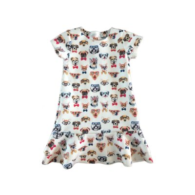 Vestidos Cachorrinhos Kids Place