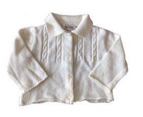 Malha de Tricot Branca Trousseau