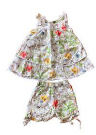 Vestido Florido com Shorts Tyrol