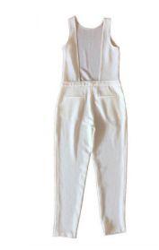 Macacão Longo Branco Zara