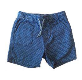 Shorts Azul Marinho com Triângulos Zara Baby Boy