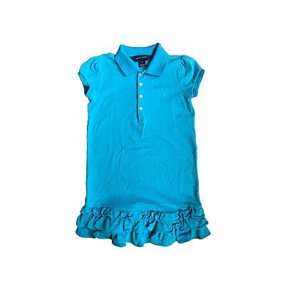 Vestido Azul Royal Ralph Lauren