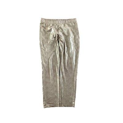 Legging Dourada Zara Girls